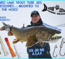 Kodiak Custom Fishing Tackle, Lake Trout, Tube Jigs